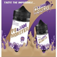 Jam Monster - Peanut Butter & Grape Jam/Jelly - 100ml